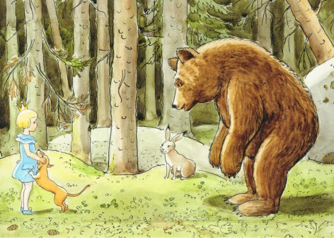 Elsa Beskow In the forest